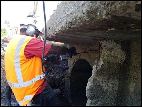 Qelekero Crossing Bridge Repairs - Fiji