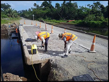 Qelekero Crossing Bridge Repairs - Maxbuild Fiji