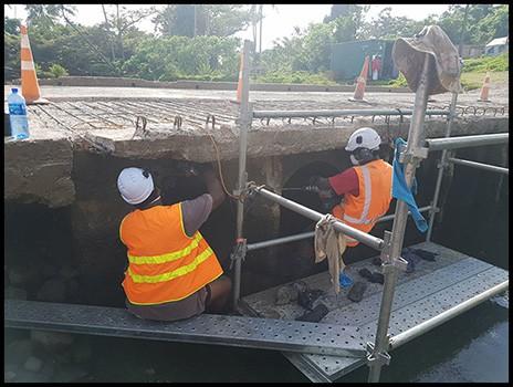 Qelekero Bridge Repairs - Fiji